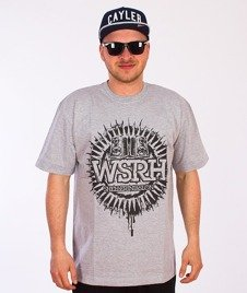 WSRH-Słońce T-Shirt Szary/Czarny