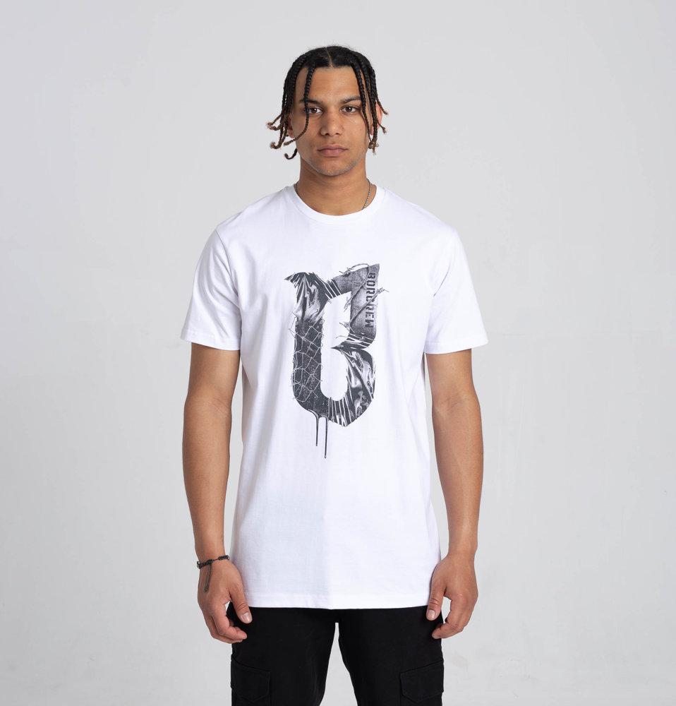 Biuro Ochrony Rapu CONCRETE T-Shirt Biały