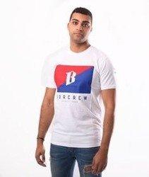 Biuro Ochrony Rapu-Flaga T-shirt Biały