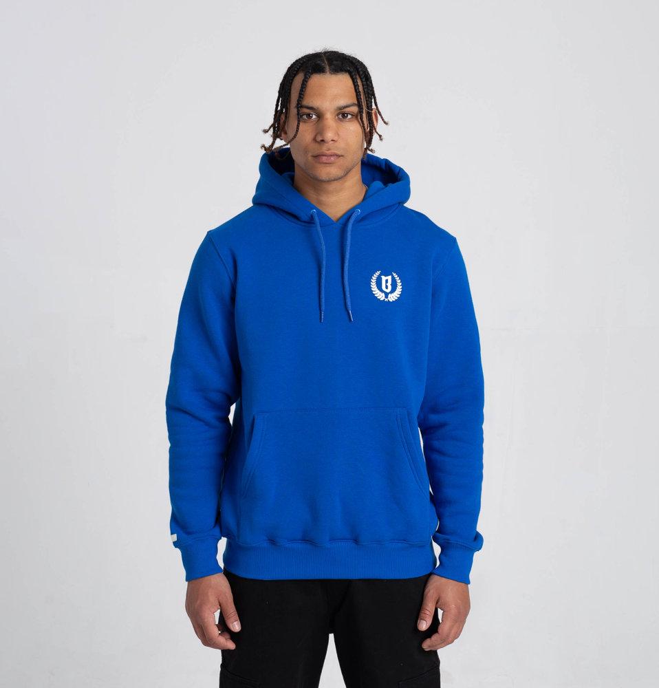 Biuro Ochrony Rapu LAUR SMALL Bluza z kapturem Niebieski