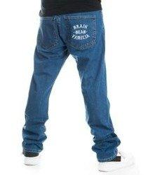 Brain Dead Familia BDF Spodnie Jeans jasny Niebieski
