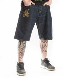 Brain Dead Familia-BDF Spodnie Krótkie Jeans Rinse