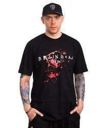Brain Dead Familia TEATR T-Shirt Czarny