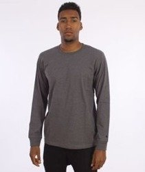 Carhartt-Base Longsleeve Dark Grey Heather/Black
