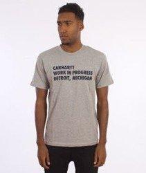 Carhartt-Bold Type T-Shirt Grey Heather/Navy