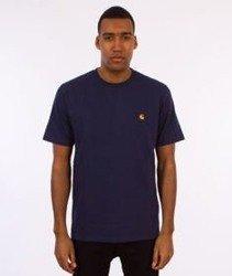 Carhartt-Chase T-Shirt Blue/Gold