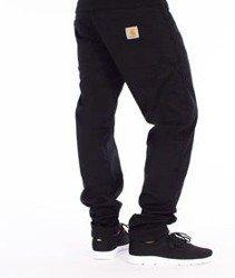 Carhartt-Fort Pants Spodnie Black Rinsed Straight Leg L32