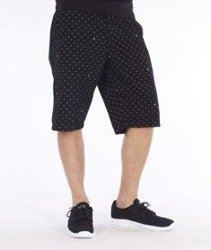 Carhartt-Johnson Krótkie Spodnie Black/Broken White