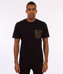 Carhartt-Lester Pocket T-Shirt Black/Camo Tiger