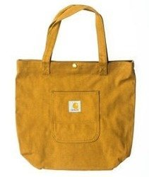 Carhartt-Simple Tote Bag Brown Rigid