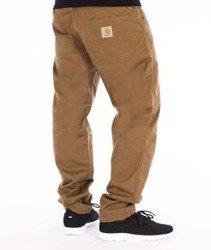 Carhartt-Skill Pants Spodnie Bronze Rinsed Straight Leg L32