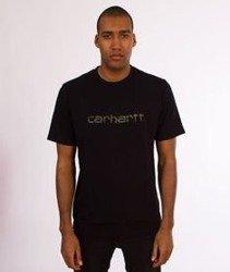 Carhartt WIP-WIP Script T-Shirt Black/Tiger Camo