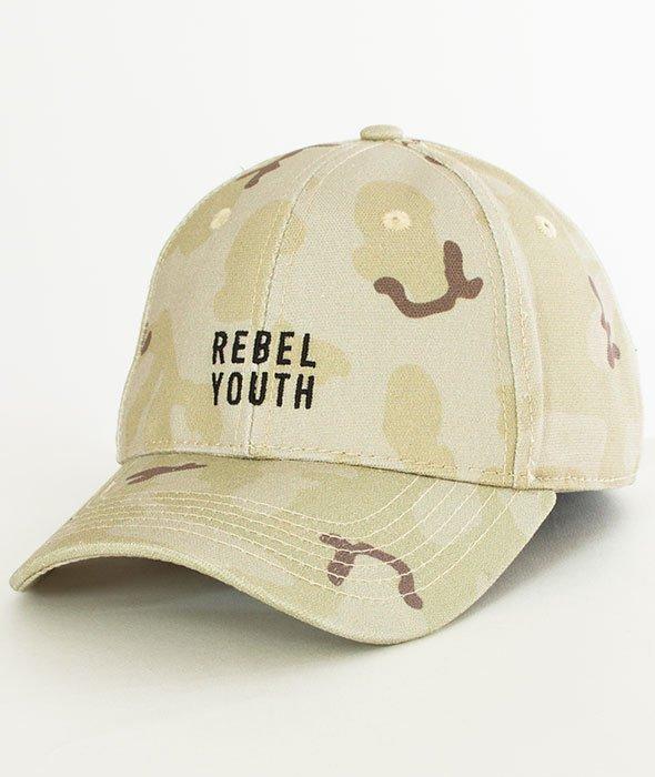 Cayler & Sons-BL Rebel Youth Curved Snapback Desert Camo/Black