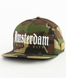 Cayler & Sons-WL Amsterdam Snapback Camo