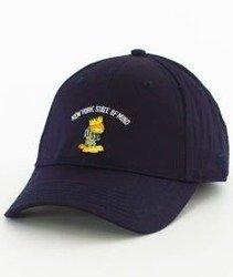 Cayler & Sons-WL King Garfield Curved Strapback Navy