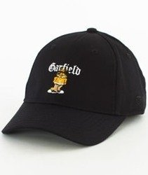 Cayler & Sons-WL Left Side Garfield Curved Strapback Black