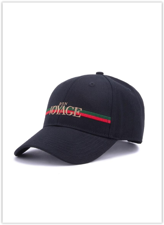 Cayler & Sons-WL Rich Voyage Curved Cap czapka czarna