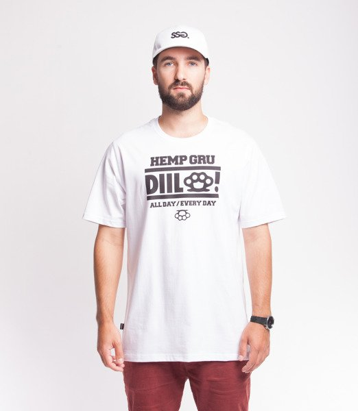 DIIL ALL DAY T-Shirt Biały