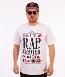 DIIL-Rap Fighter T-Shirt Biały
