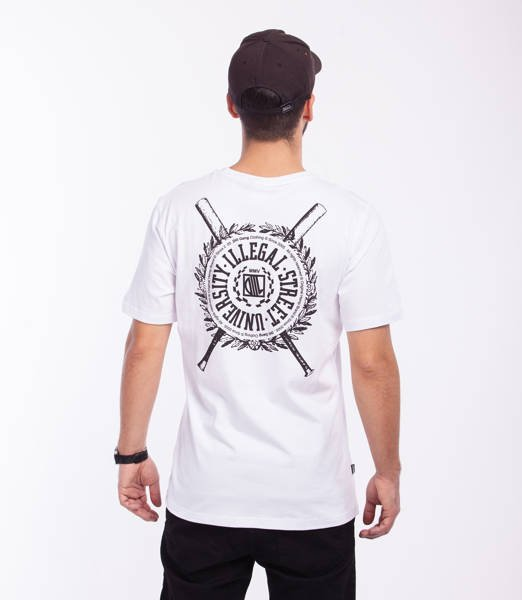 DIIL SHIELD T-Shirt Biały