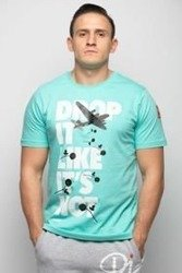 Diamante-Drop It Like It's T-Shirt Miętowy