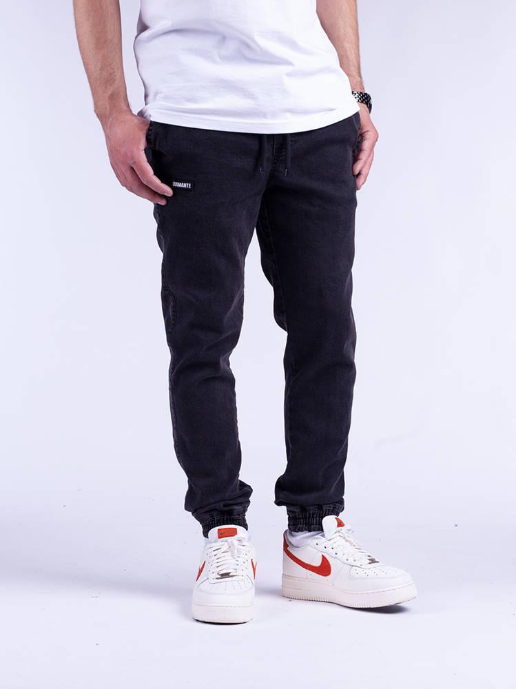 Diamante JOGGER 11 DC Czarny Marmur Jeans