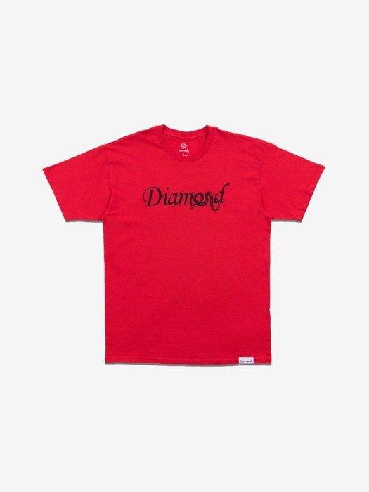Diamond COLD BLOODED T-Shirt Czerwony