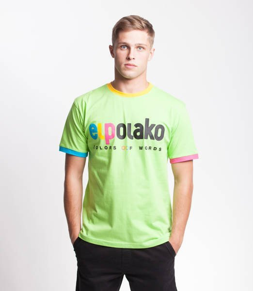 El Polako COW T-Shirt Lime