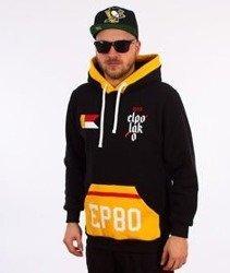 El Polako-Flag Hoody Bluza Kaptur Czarna