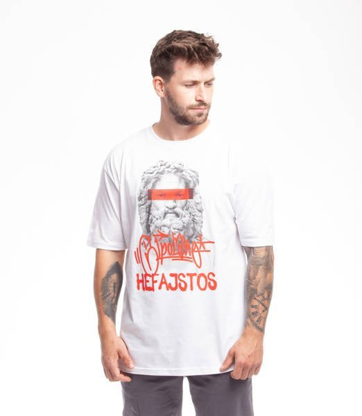 El Polako HEFAJSTOS T-Shirt Biały