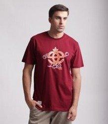 Elade Icon Happy T-Shirt Bordowy