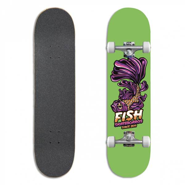 Fish Skateboards Deskorolka Kompletna BEGINNER EMMA 8.0