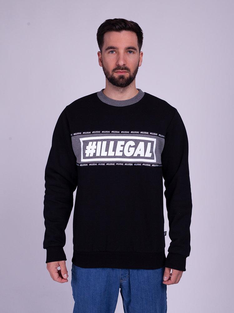 Illegal BELT Bluza Czarny