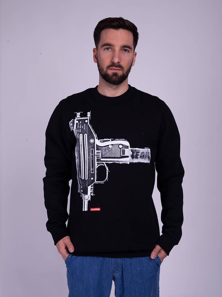 Illegal GUN Bluza Czarny