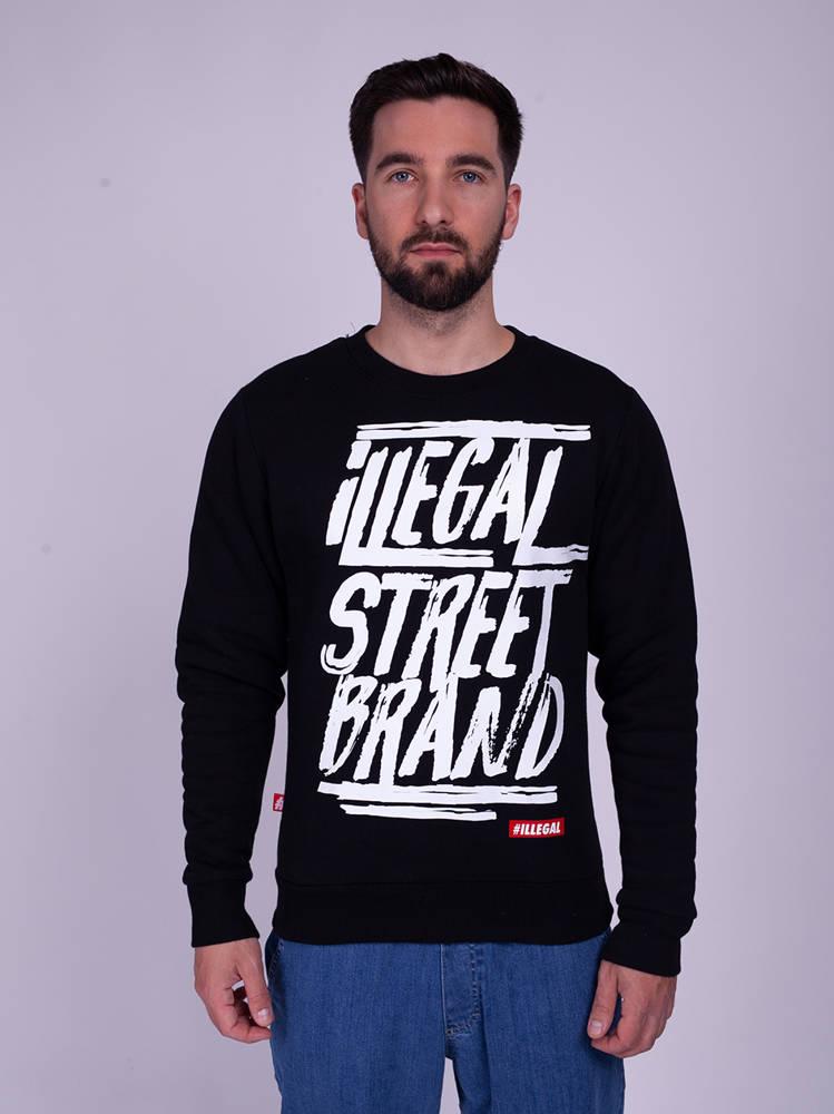 Illegal STREET BRAND Bluza Czarny
