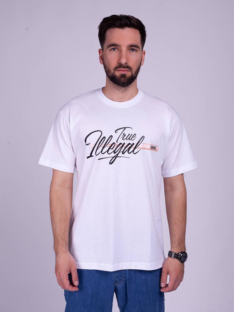 Illegal TRUE T-Shirt Biały