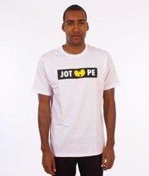 JWP-JOT WU PE T-shirt Biały
