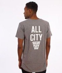 K1X-All City Long T-shirt Szary