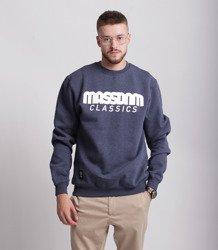 Mass CLASSICS Bluza Granatowy Melanż