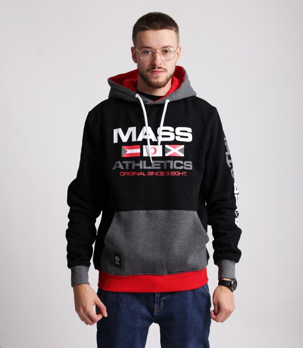Mass CRUISE Bluza z Kapturem Czarny