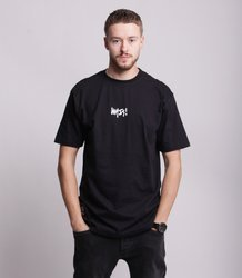 Mass SIGNATURE SMALL LOGO T-Shirt Czarny