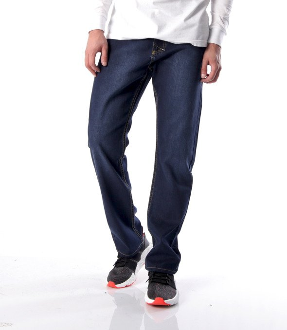 Mass-spodnie Jeans Classic Straight Fit Dark Blue