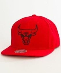 Mitchell & Ness-Chicago Bulls Raised Perimeter SB Snapback BH72P5