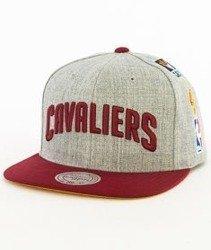 Mitchell & Ness-Cleveland Cavaliers 058VZ Snapback Czapka Szara