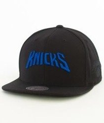 Mitchell & Ness-New York Knicks 032VZ Snapback Czapka Czarna