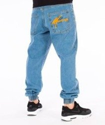 Moro Sport-Big Paris Jogger Jeans Spodnie Jasny Jeans