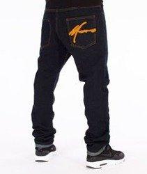 Moro Sport-Big Paris Spodnie Ciemny Jeans