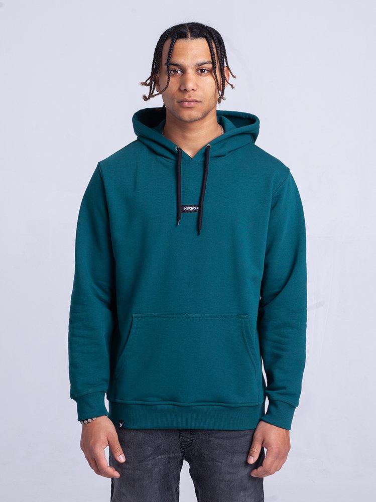 Nervous CLASSIC SMALL Bluza z kapturem Zielony