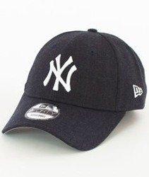 New Era-New York Yankees Heather Team Essential Czapka z Daszkiem Heather Navy