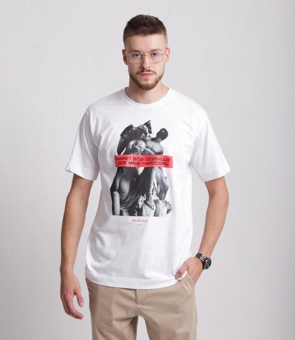 Pihszou-Hardcore T-shirt Biały